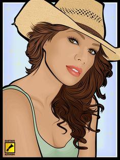 Leona Lewis - love by gdvectors.deviantart.com on @deviantART