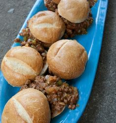 Very Sloppy Joels by Kate Gosselin for #WeekdaySupper, on the blog Shockingly Delicious  #kidfriendly #familydinner