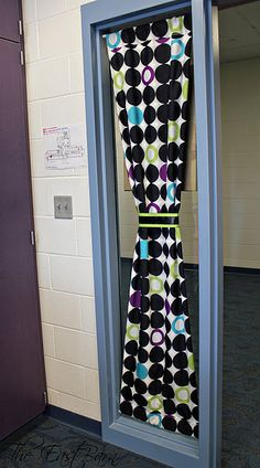 Curtains Ideas classroom curtain ideas : Show your School Spirit by designing your own Classroom Door ...