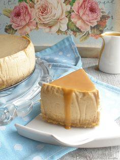 Coco e Baunilha: Cheesecake de doce de leite com toffee