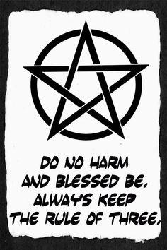 Do No Harm Print Pentacle Decor Wiccan Rede Blessed Be Wiccan Home, Wiccan Art, Wiccan Decor, Wiccan Symbols, Mayan Symbols, Viking Symbols, Egyptian Symbols, Viking Runes, Ancient Symbols