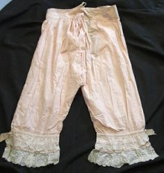 VIctorian Ladies Bloomers by gavelgirl, via Flickr. Love this sweet blush color.