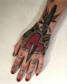 Tattoo work by :  @friedrichuebler!!!) #skinartmag #tattoorevuemag…