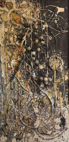 Painting Yellow, oil on assemblage, 182 x 91 x Jan du Toit Collection Art Informel, Tachisme, South African Art, Fine Art Auctions, Assemblage, Art Database, Mixed Media Art, Mix Media, Pictures To Draw
