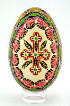 Wooden Painted Ukrainian Easter Eggs, Pysanka ,Pysanky,Pisanki set ...