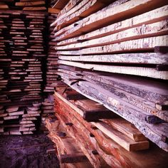 Shopping time!  #sawmill #woodworking #woodenheart