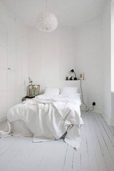 White Room Decor 35 all-white rooms (and why they work!) | clean bedroom, white
