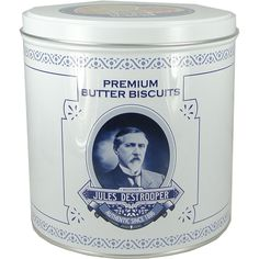 Destrooper Belgian Premium Butter Cookies in Retro Tin