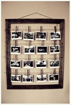 Awesome photoframe idea