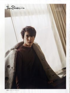 "YongHwa for ""InStyle"" Korea Magazine Dec. 2014"