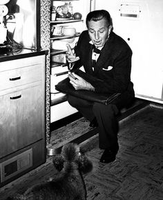Walt Disney In The Kitchen  ~  Raiding The Fridge!