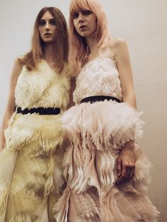 Youth and pop culture provocateurs since Fearless fashion, music, art, film, politics and ideas from today's bleeding edge. Declaration Of Independence, Roksanda, Ss16, Backstage, Pop Culture, Fur Coat, Jackets, Inspiration, Surface