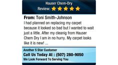 I had planned on replacing my carpet because it looked so bad but l wanted to wait just a...