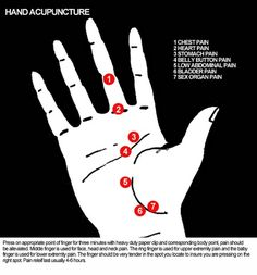 i like the simplicity of this palm acupuncture chart