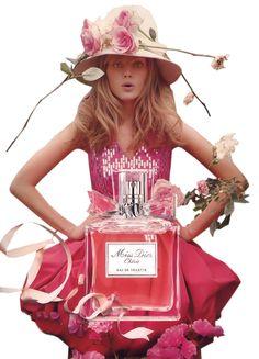"Parfums  DIOR     ...     ""Miss Dior Chérie""   !"