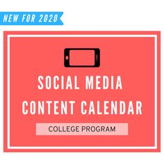 Social Media Content Calendar: College Volleyball