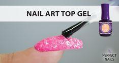 Nail art Top gel