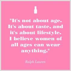Style has no age.