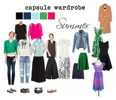 """Summer Capsule Wardrobe #2"" by stephxsu on Polyvore featuring Barneys New York, Lucky Brand, Miss Selfridge, ESPRIT, By Malene Birger, Dolce&Gabbana, LE3NO, Chicwish, Diane Von Furstenberg and Sea, New York"