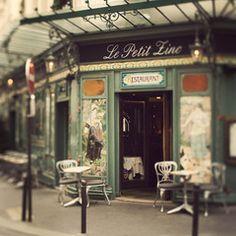 let's meet at Le Petit Zinc, Paris