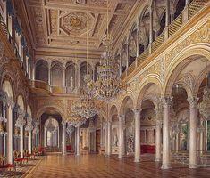 The Pavilion Hall, Hermitage, Edward Petrovich Hau, 1864