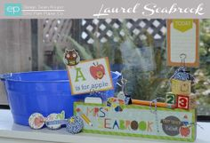 Laurel Seasbrook for Echo Park Paper and Glue Get the collection at #craftysteals