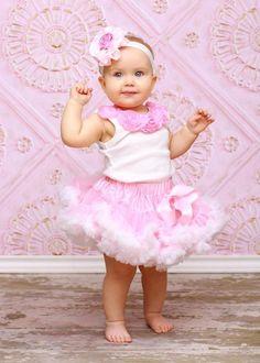 Pink Baby Boutique - Pink Milk Shake Pettiskirt Set, $68.00 (http://www.pinkbabyboutique.com/pink-milk-shake-pettiskirt-set/)