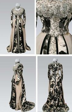 Worth(who else?) evening gown | Drexel University | 1890s