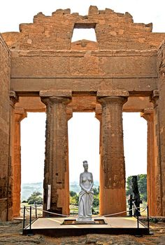 Valley of The Temples, Agrigento, Sicily, Italy #agrigento