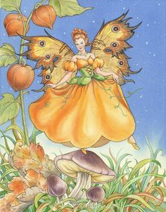Pumpkin Fairy - Click to Zoom!