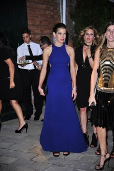 Charlotte Casiraghi attends the Gucci Award for Women in Cinema at The 69th Venice International Film Festival at Hotel Cipriani on August 31, 2012 in Venice, Italy