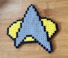 Perler Bead Star Trek Logo on Etsy, $6.00