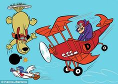 Dick Dastardly and Muttley in Their Flying Machines (1969) http://en.wikipedia.org/wiki/Dastardly_and_Muttley_in_Their_Flying_Machines