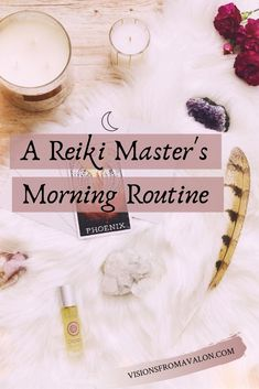 What's the first thing you do when you wake up in the morning? Do you reach for your phone? Until I realized that this habit of spending time in other people's energy left me feeling scattered Reiki Meditation, Meditation Music, Healing Hands, Self Healing, Wicca, Magick, Usui Reiki, Reiki Training, Reiki Room