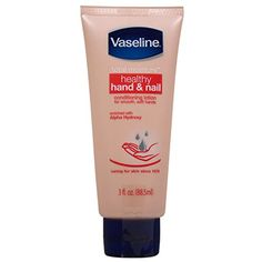 Healthy Hand and Nail Conditioning Lotion by Vaseline for Unisex - 3 oz Hand Lotion ** Visit the image link more details. (This is an affiliate link) #FootHandCare