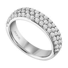 ArtCarved Diamond Wedding Band 14KPrice $2779.00 Ben Bridge Galleria