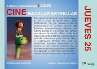 Cine Bajo las Estrellas - Un Gran Dinosaurio (2015)