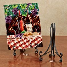 Sandifer Folding Metal Tabletop Display Easel