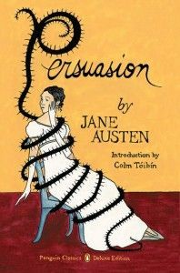 "@Snagol  Assistant Editor, Melissa Faulner, recommends PERSUASION by Jane Austen ""it's Austen's oldest heroine, the quiet, thoughtful Anne Elliot, who remains my truest love."""