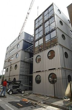 Shipping Container Homes, Buildings