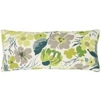 Hot House Floral Spring Decorative Pillow (15x35)