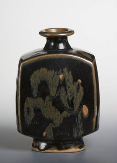 Bernard Leach, 'Flat-sided Bottle' 1957