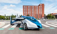 Apparently, The Future Is Now. This Slovakian Brand-New Flying Car Is Awesome.