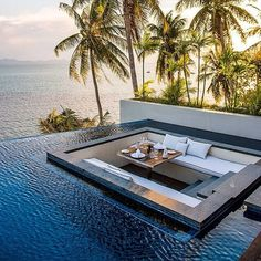 Inspiring Architecture Conrad Koh Samui, Tayland Dream Home Remodeling: Is It Really a Dream? Beautiful Homes, Beautiful Places, Beautiful Sunset, Luxury Pools, Luxury Cars, Dream Pools, Swimming Pool Designs, Swimming Pools, House Goals