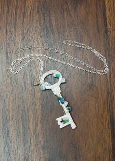 Unlock My Heart Key Necklace - Modern Vintage Boutique