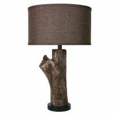 """26"""" Log Lamp  Colorado's American Furniture Warehouse"""