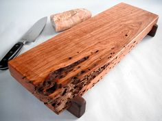 Reclaimed cherry wood serving/cutting board $50