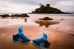 Sneakers on The Beach by Lightpimp - akadodjer