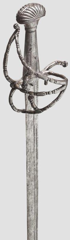 German or Italian Landsknecht Sword 1540