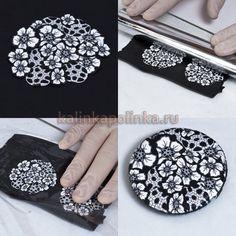 как сделать сережки из полимерной глины